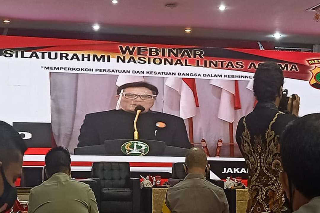 Dewan Rohaniwan/Pengurus Pusat MATAKIN hadiri Webinar Silaturahmi Nasional Lintas Agama