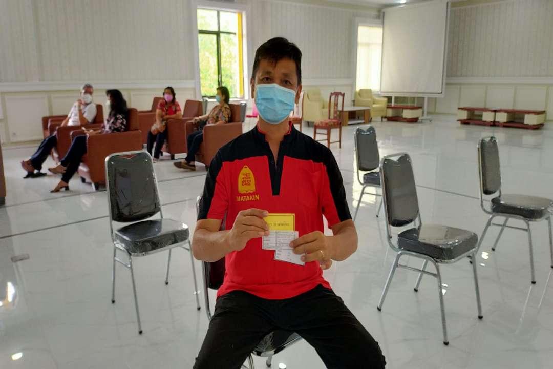 Ketua Harian MATAKIN Ajak Umat Khonghucu Sukseskan Program Vaksinasi Covid-19
