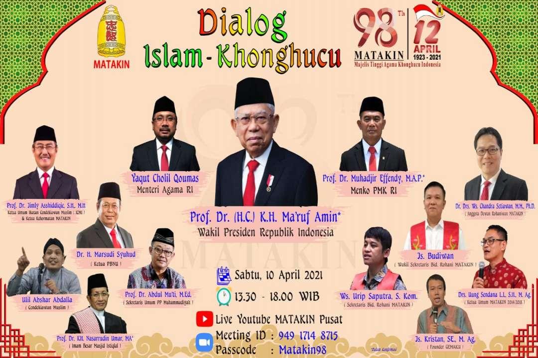 Dialog Islam-Khonghucu, Tuhan dan Ketuhanan dalam Persepektif Islam dan Khonghucu