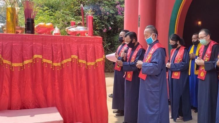 Doa Permohonan Penguatan Batin dan Pertolongan Tian atas wabah pandemi Covid -19 dan Sembahyang Jing Heping
