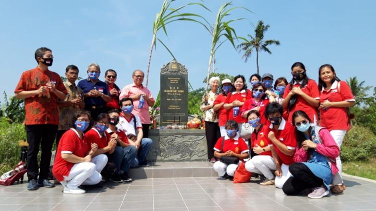 MATAKIN Resmikan Pembangunan Makam Djiauw Kie Siong