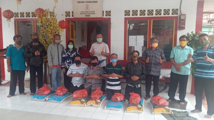MATAKIN Provinsi Jawa Barat Bantu Rohaniwan yang Terkena Dampak Covid 19
