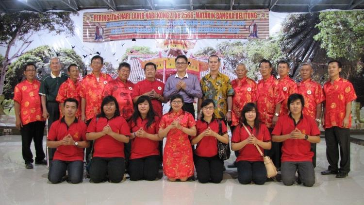Peringatan Hari Lahir Nabi Kongzi ke 2566 MATAKIN Bangka Belitung