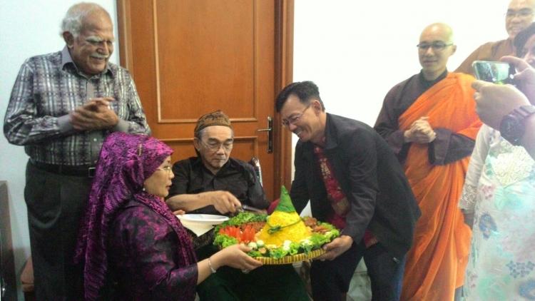 Acara Doa Bersama Lintas Agama Perayaan 76th Sang Pelintas Batas Djohan Effendi