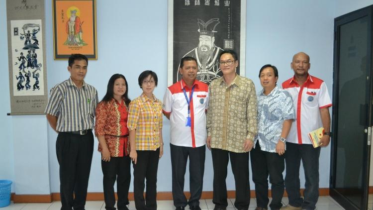 Kunjungan Kerja BNN ke Sekretariat MATAKIN