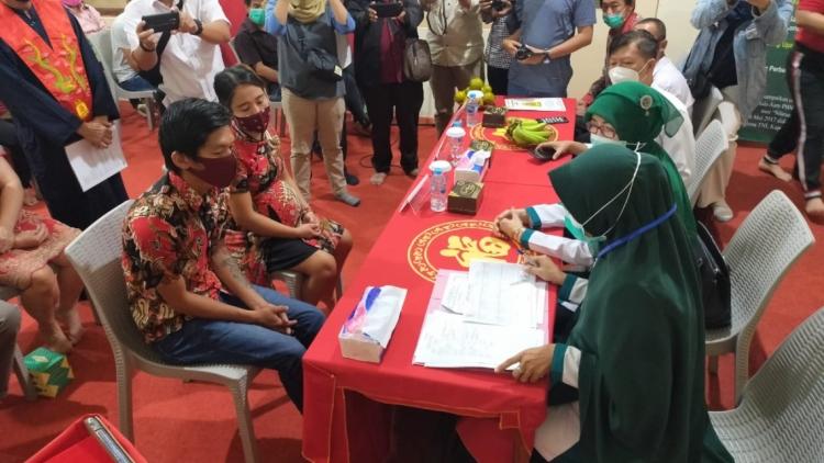Belum Tercatat Negara, 150 Pasangan Kawin  Catatkan Perkawinan Di Disdukcapil Kota Pontianak